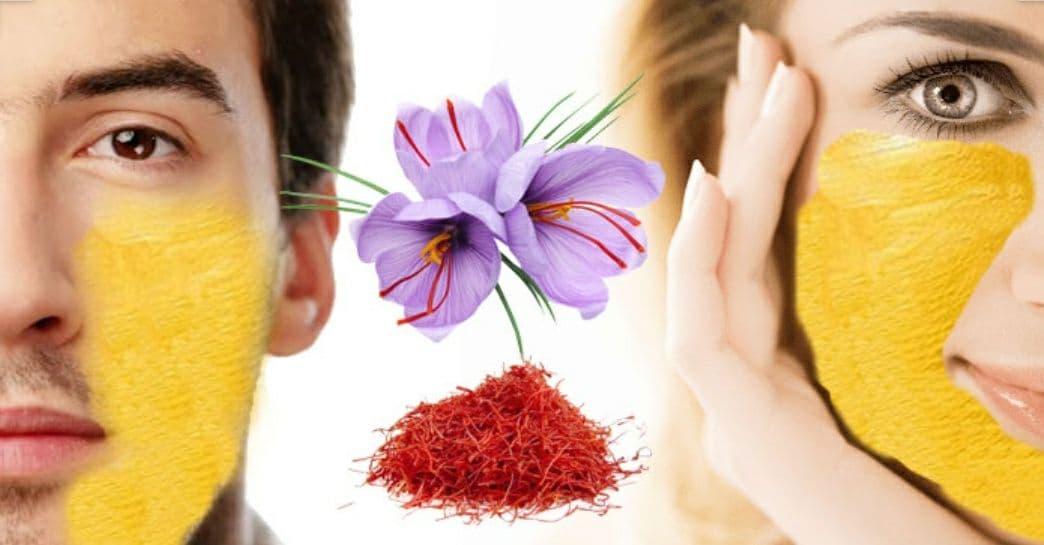 saffron skin care