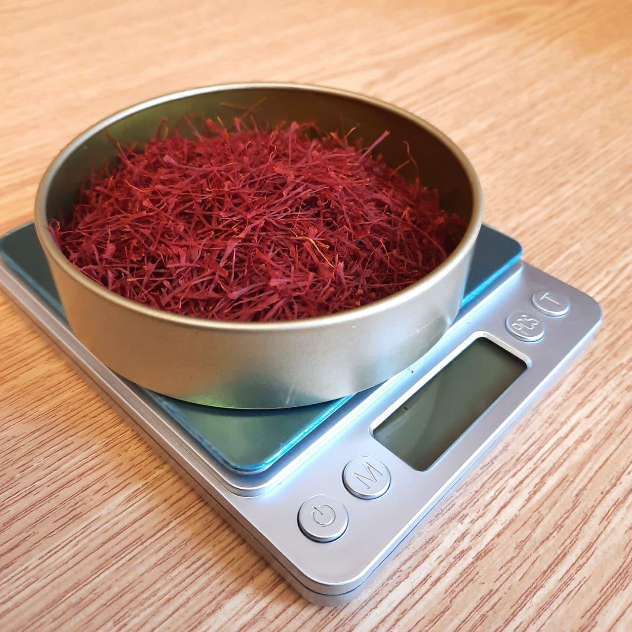 saffron price per gram