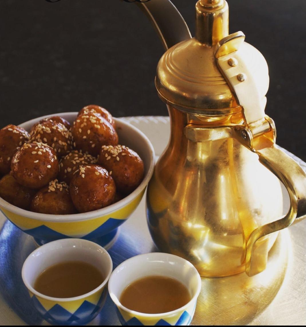 Saffron qahwa recipe