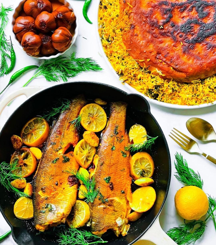 Saffron fish recipe